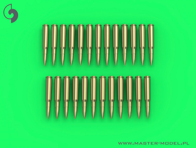 MASTER 1:35 GM35021 Browning .50 caliber (12.7mm) - cartridges (25pcs)