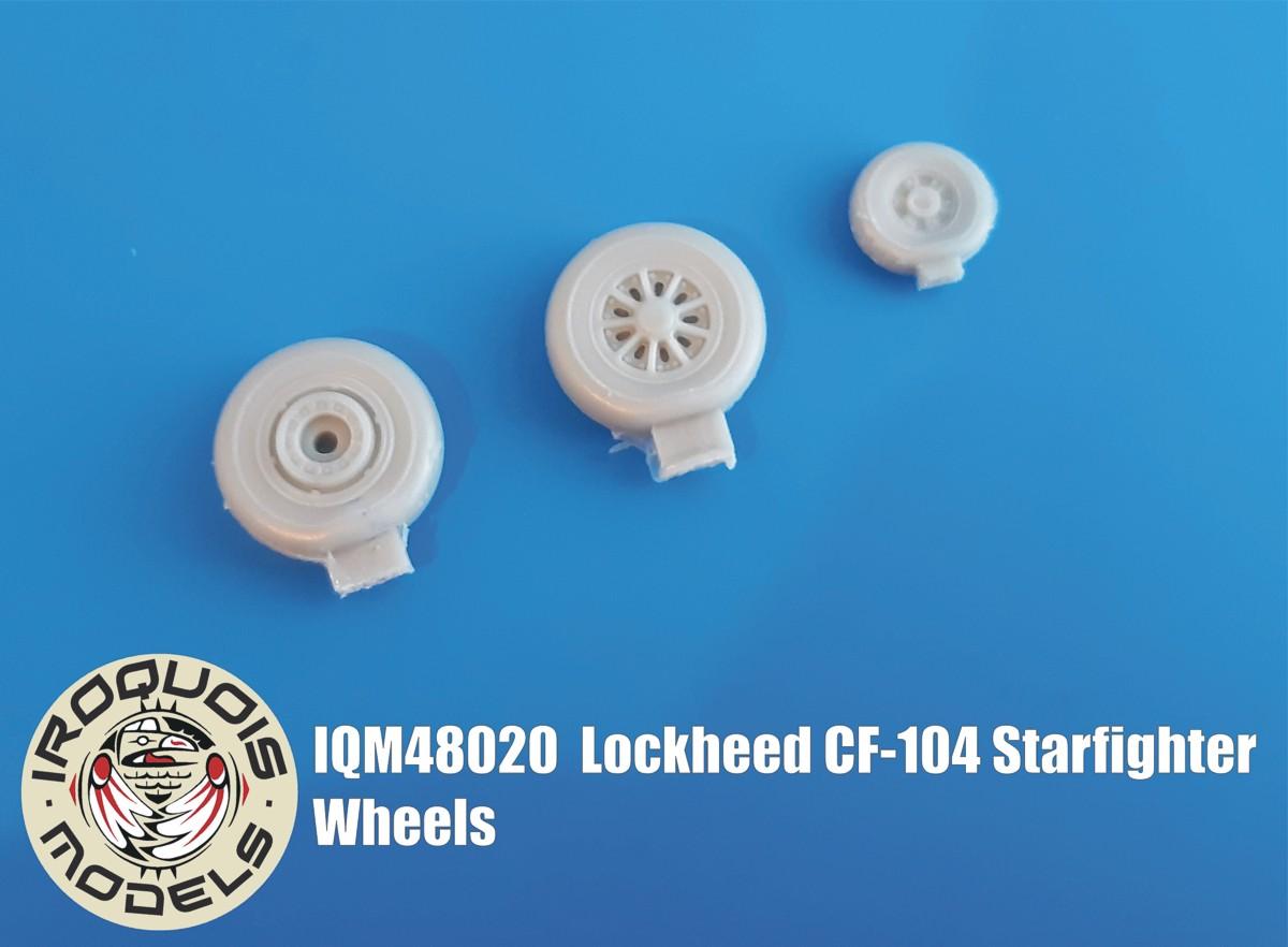 IQM48020 Lockheed CF-104 Starfighter Wheels
