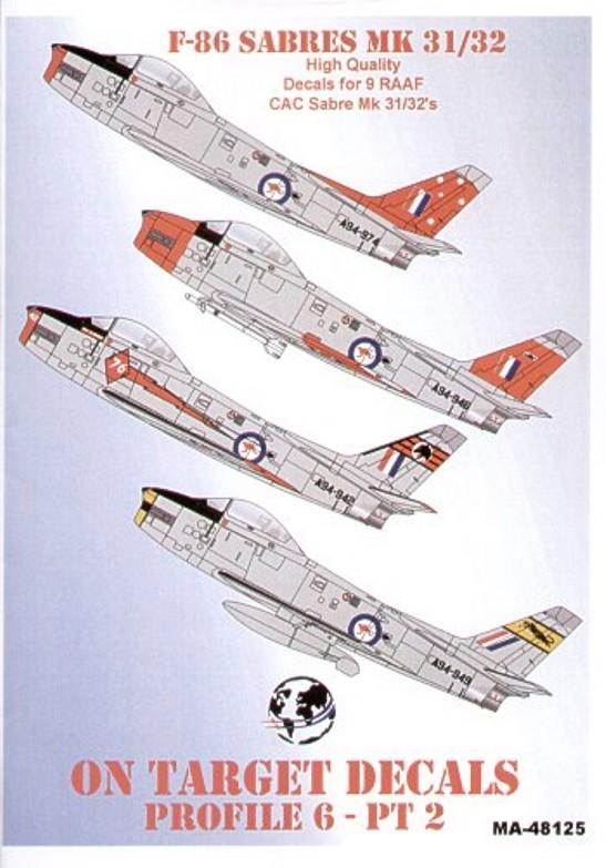 48125 North-American F-86 Sabres Part 2 - RAAF