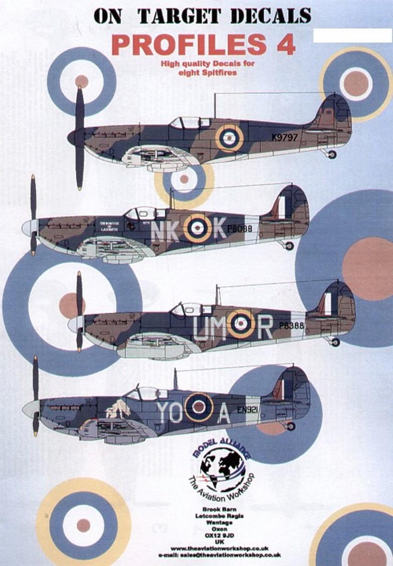 48114 On Target Supermarine Spitfire