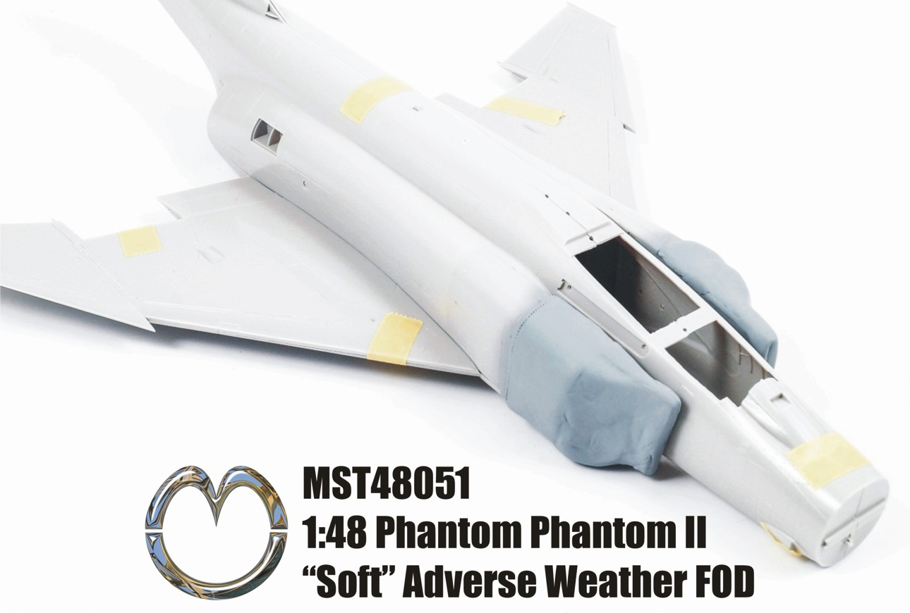 MST48051 1:48 British Pahontom II Inclement Weather FOD Covers