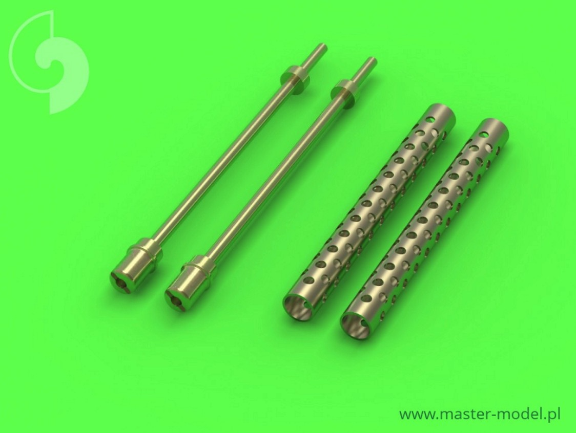 MASTER 1:35 GM35005 Browning M1919 .30 cal machine gun barrels - one piece muzzle (cylindrical shape) (2pcs)