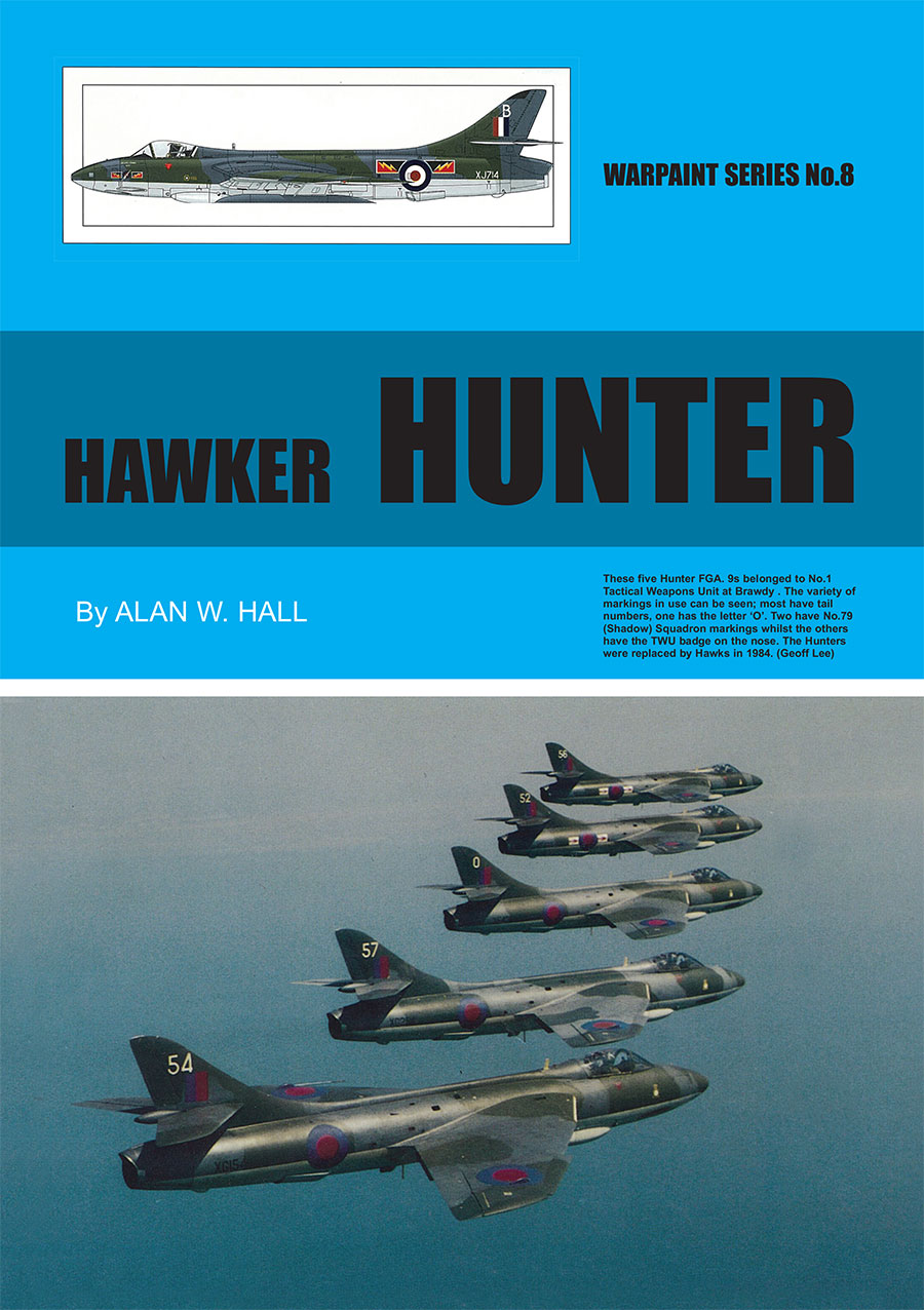 Warpaint Series 8 Hawker Hunter