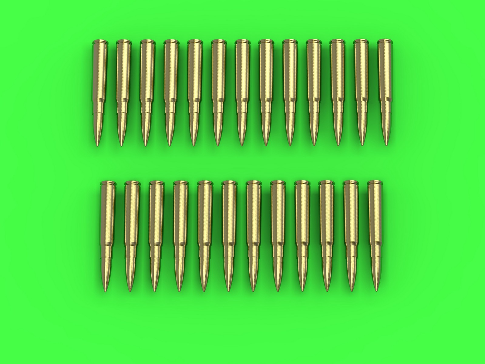 MASTER 1:35 GM35026 MG-34/MG-42 (7.92mm) - cartridges (25pcs)