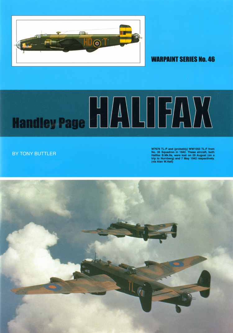 Handley-Page Halifax by Tony Buttler