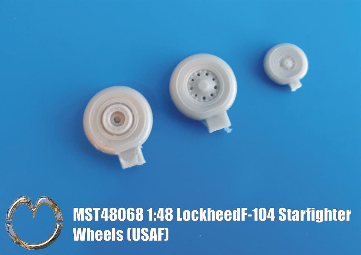 MST48068 Lockheed F-104 Starfighter Wheels USAF