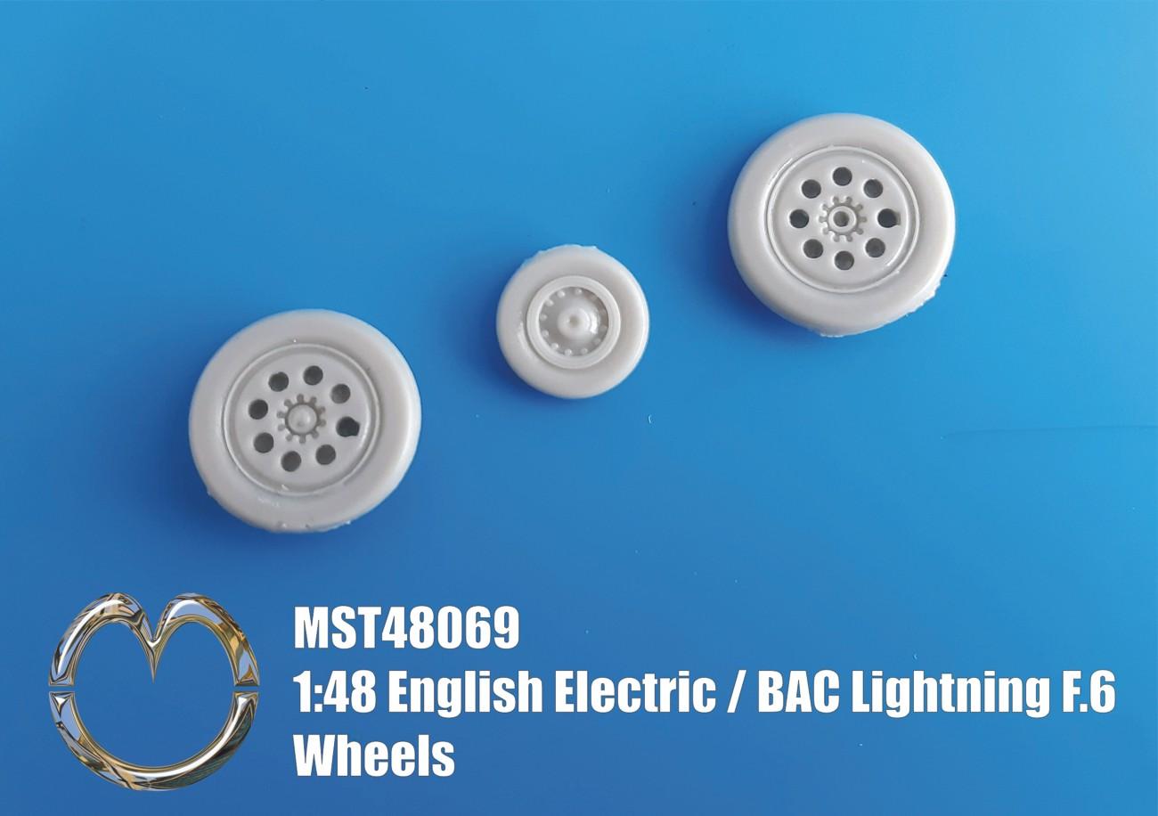 MST48069 English Electric / BAC Lightning F.6 Wheels