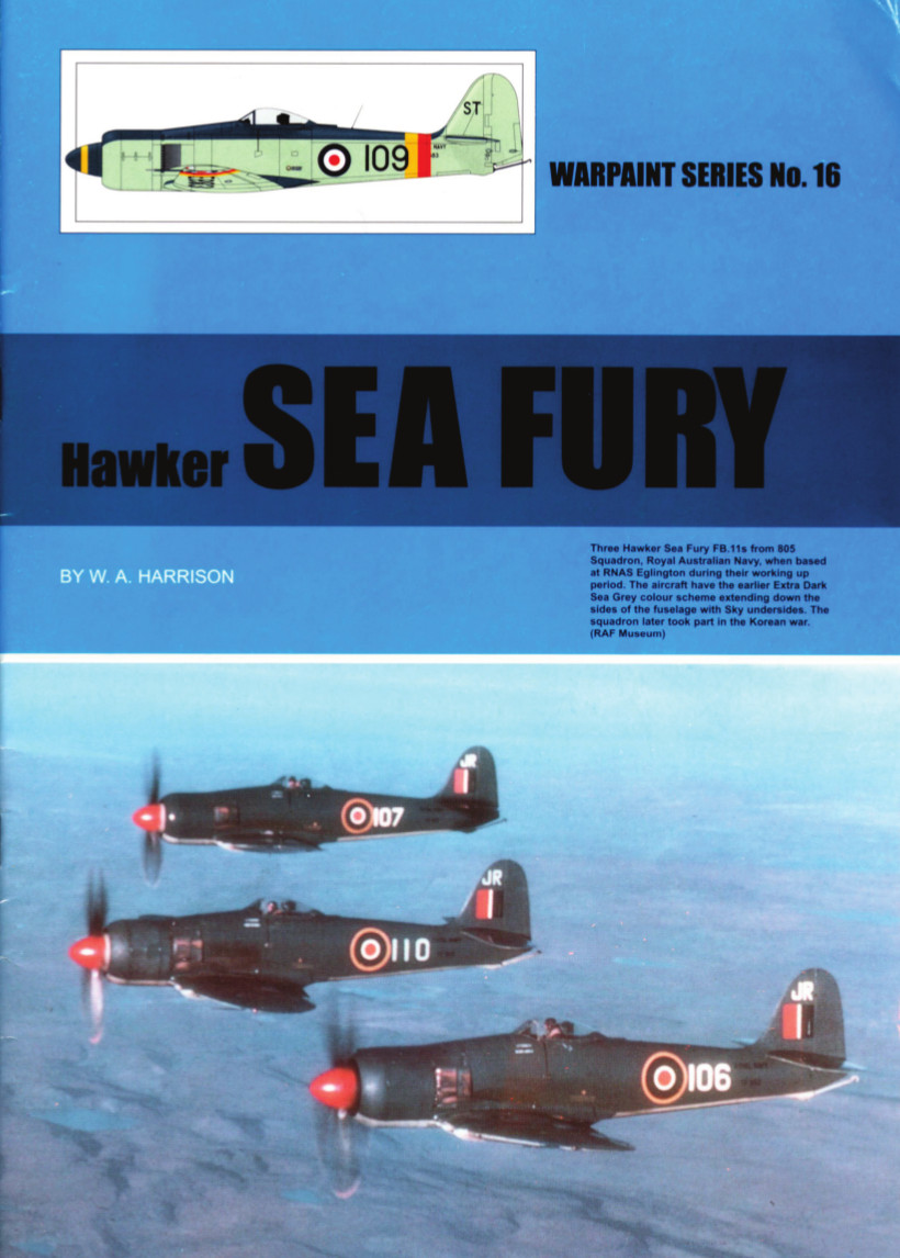 Warpaint Series 16 Hawker Sea Fury FB.11
