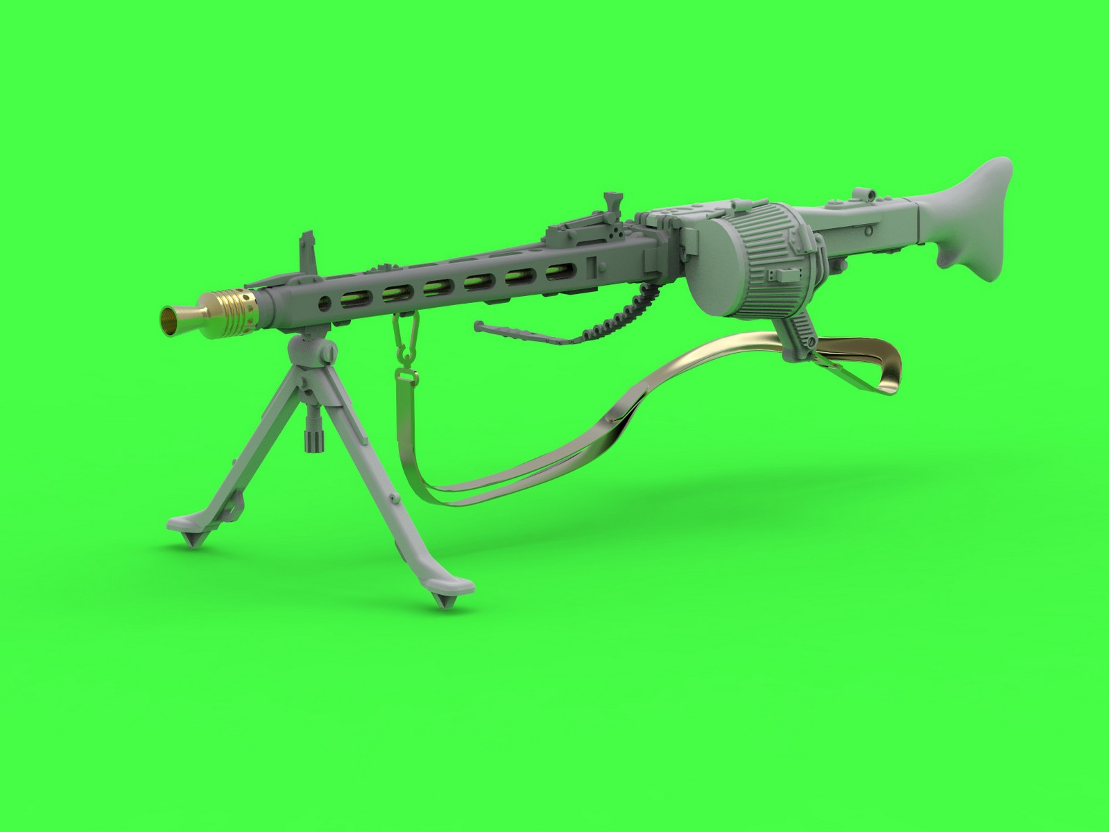 MASTER 1:35 GM35024 MG-42 - German Machine Gun (7.92mm)