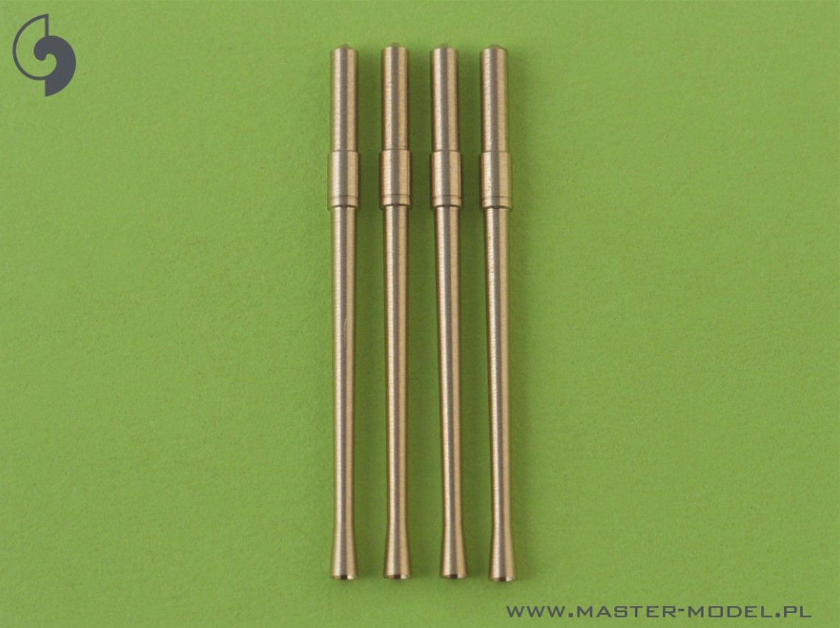 Master 32-007 1:32 Japanese Type 99 20mm Mark 2 gun barrels (4pcs