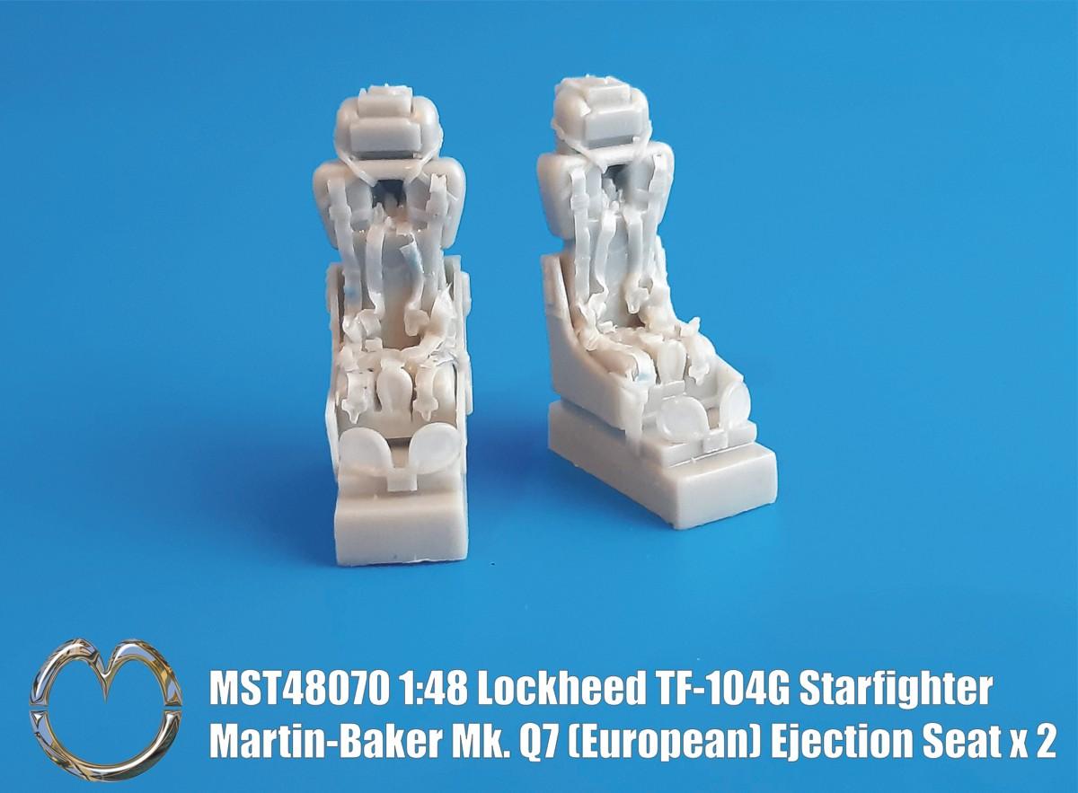 MST48070 Lockheed TF-104G Starfighter Martin-Baker Mk. Q7(A) Ejection Seat  x2