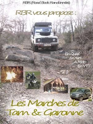 Les Marches de Tarn & Garonne (Format voiture A4 vertical)