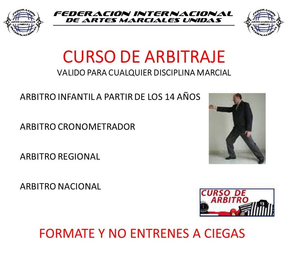 CURSO ARBITRO NACIONAL