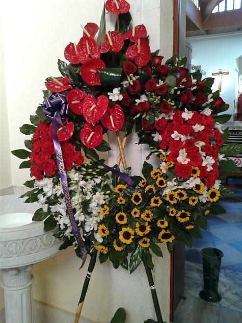 composizione funebre