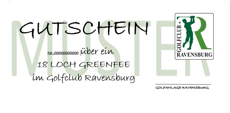 Greenfee-Gutschein 9 Loch WE