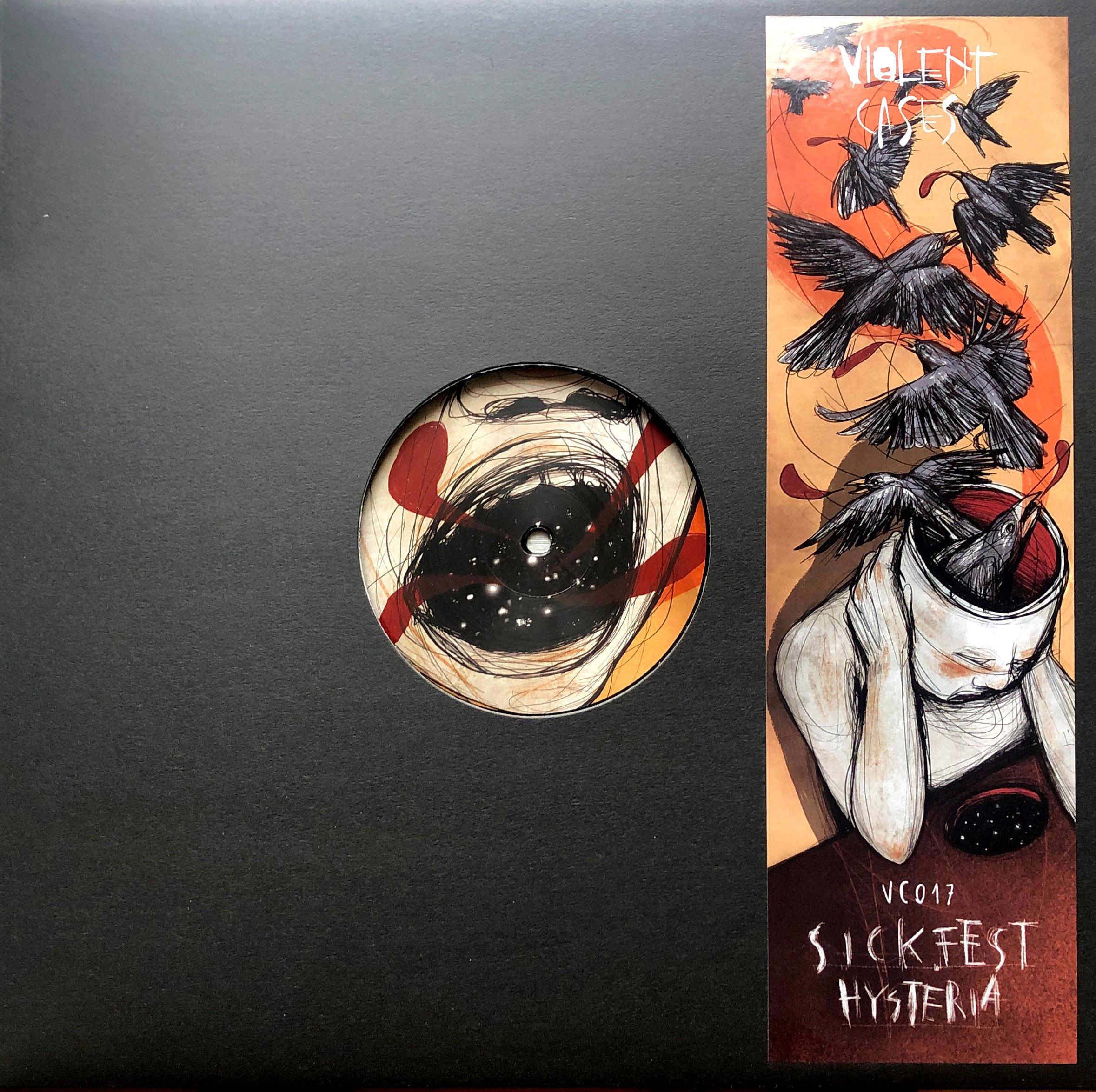 "Violent Cases 017 - Sickefest ""Hysteria"" EP"