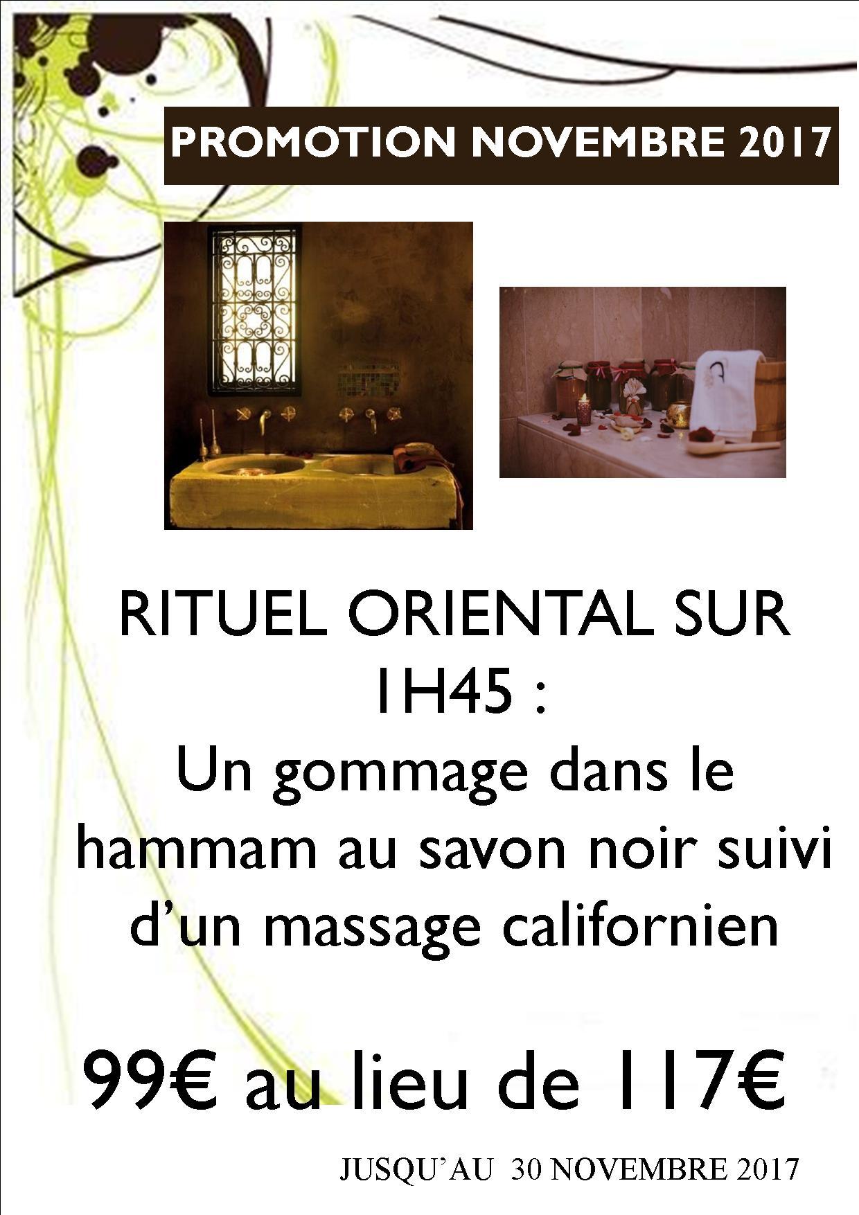 Rituel oriental 1H45