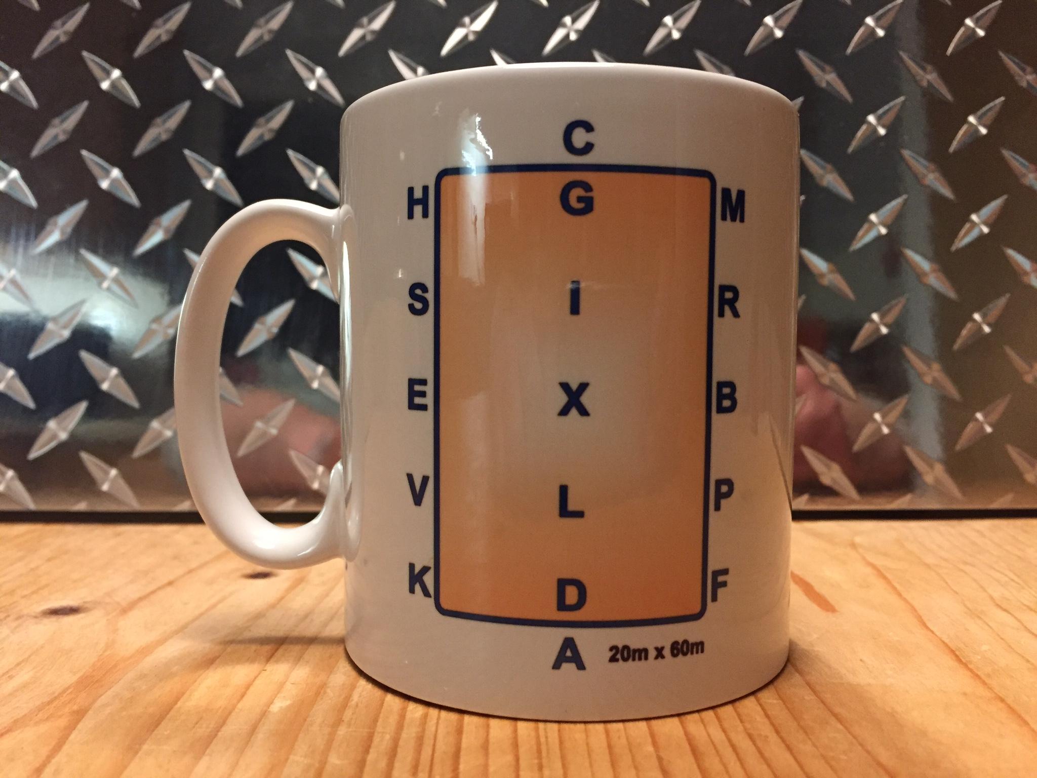 Dressage Arena Logo Printed Mug