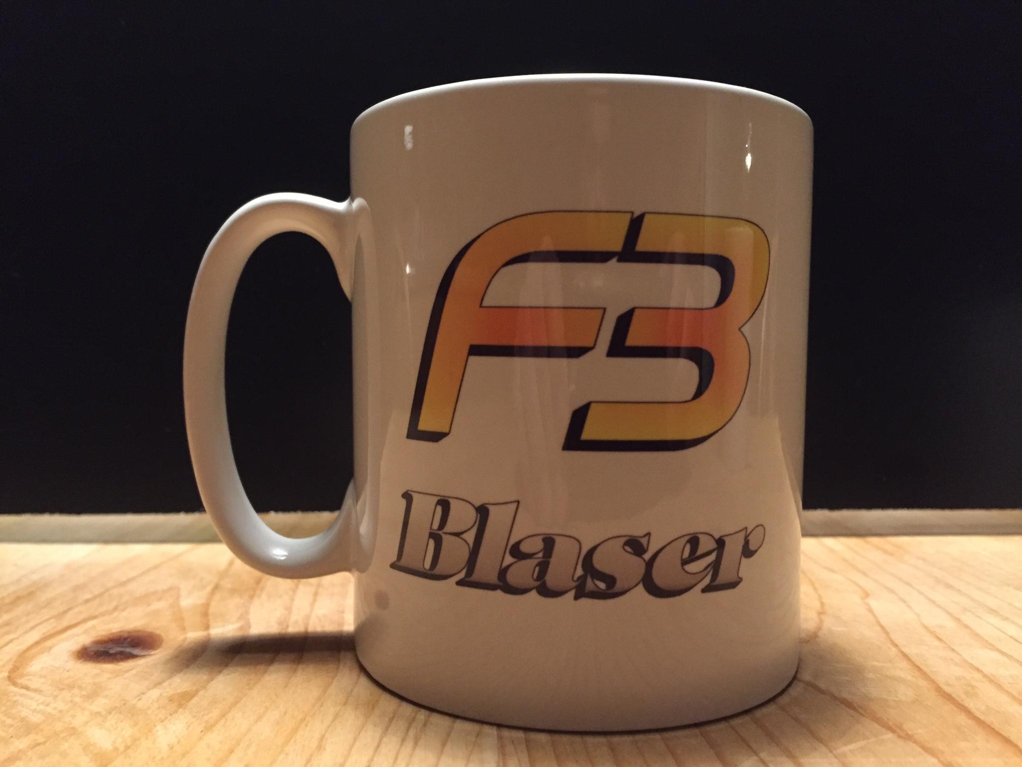 Blaster F3 Shotgun Logo Printed Mug