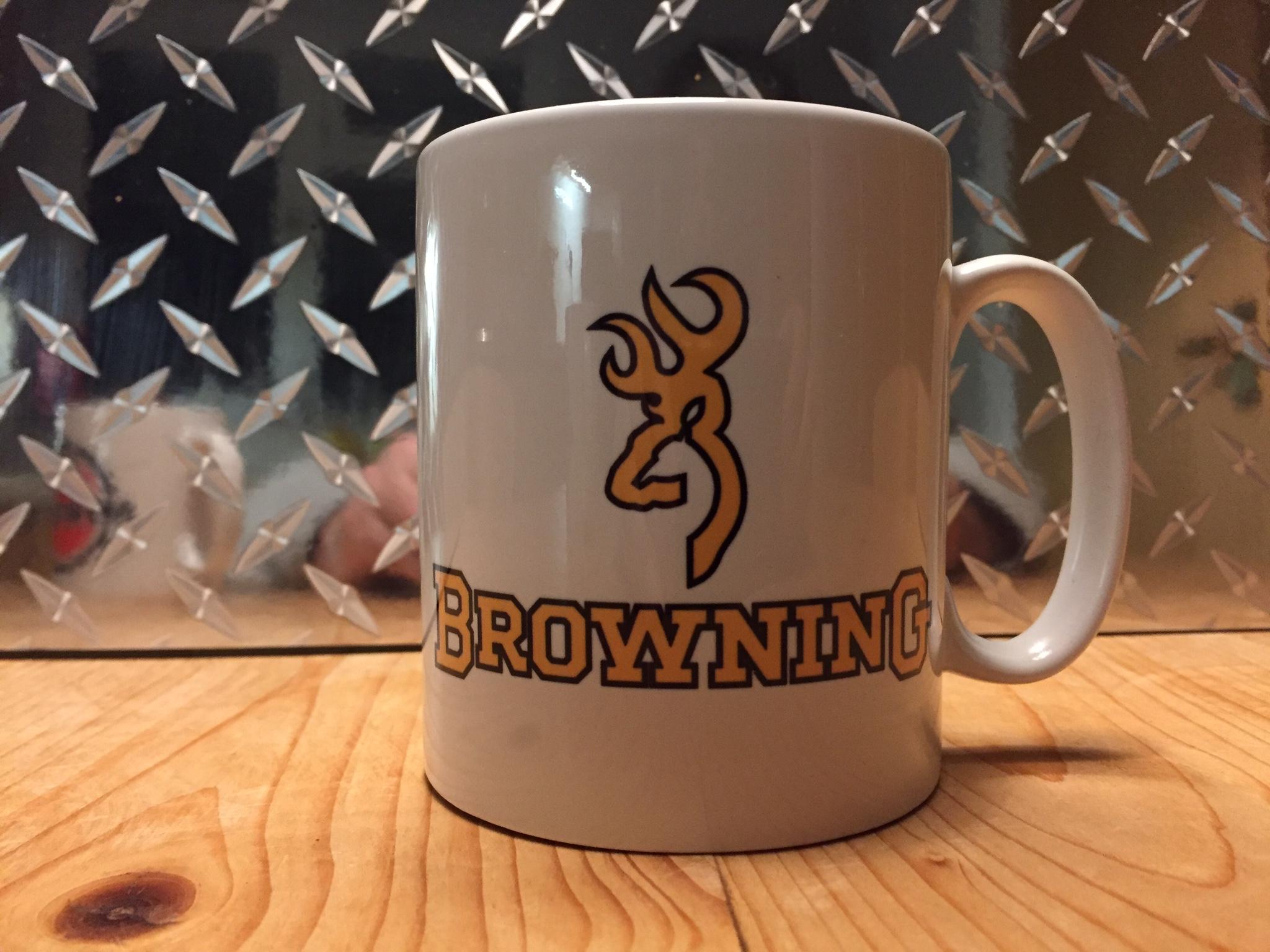 Browning Shotguns Logo Printed Mug