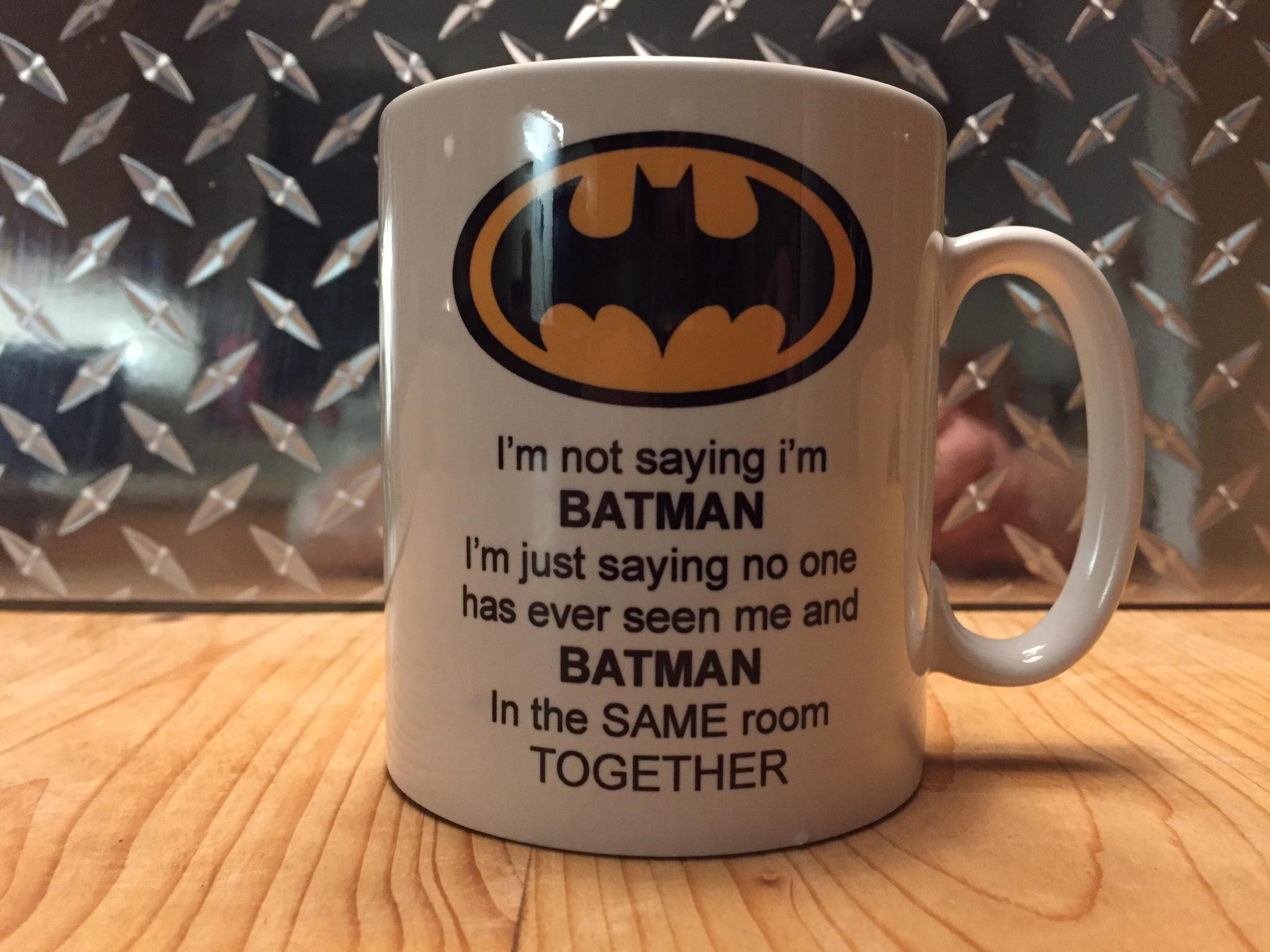 Batman funny mug