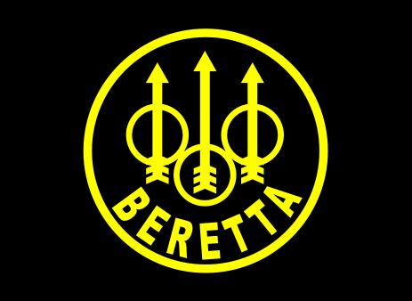 Beretta large logo decal