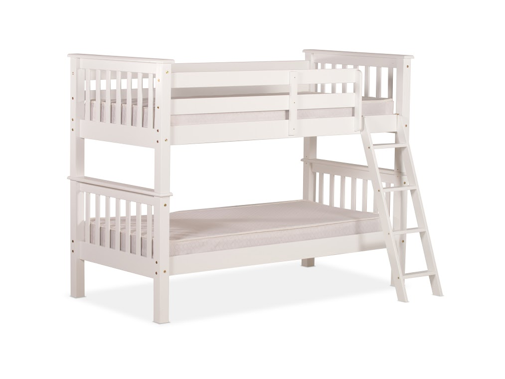 3FT OXFORD BUNK BED IN WHITE PINE