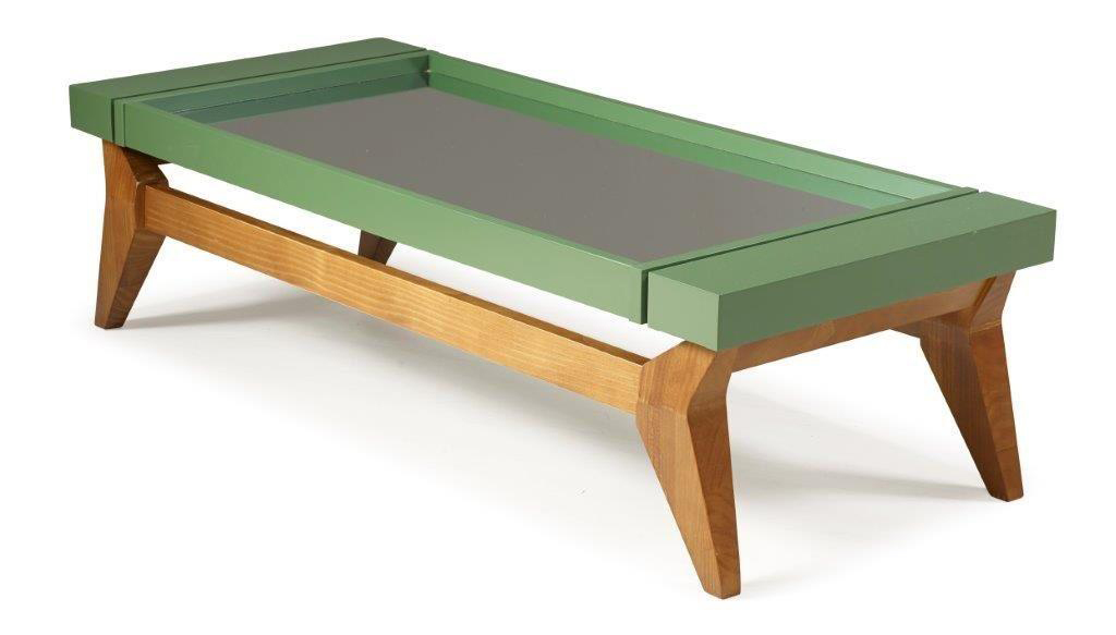 Mirrored Crystal Coffee Table