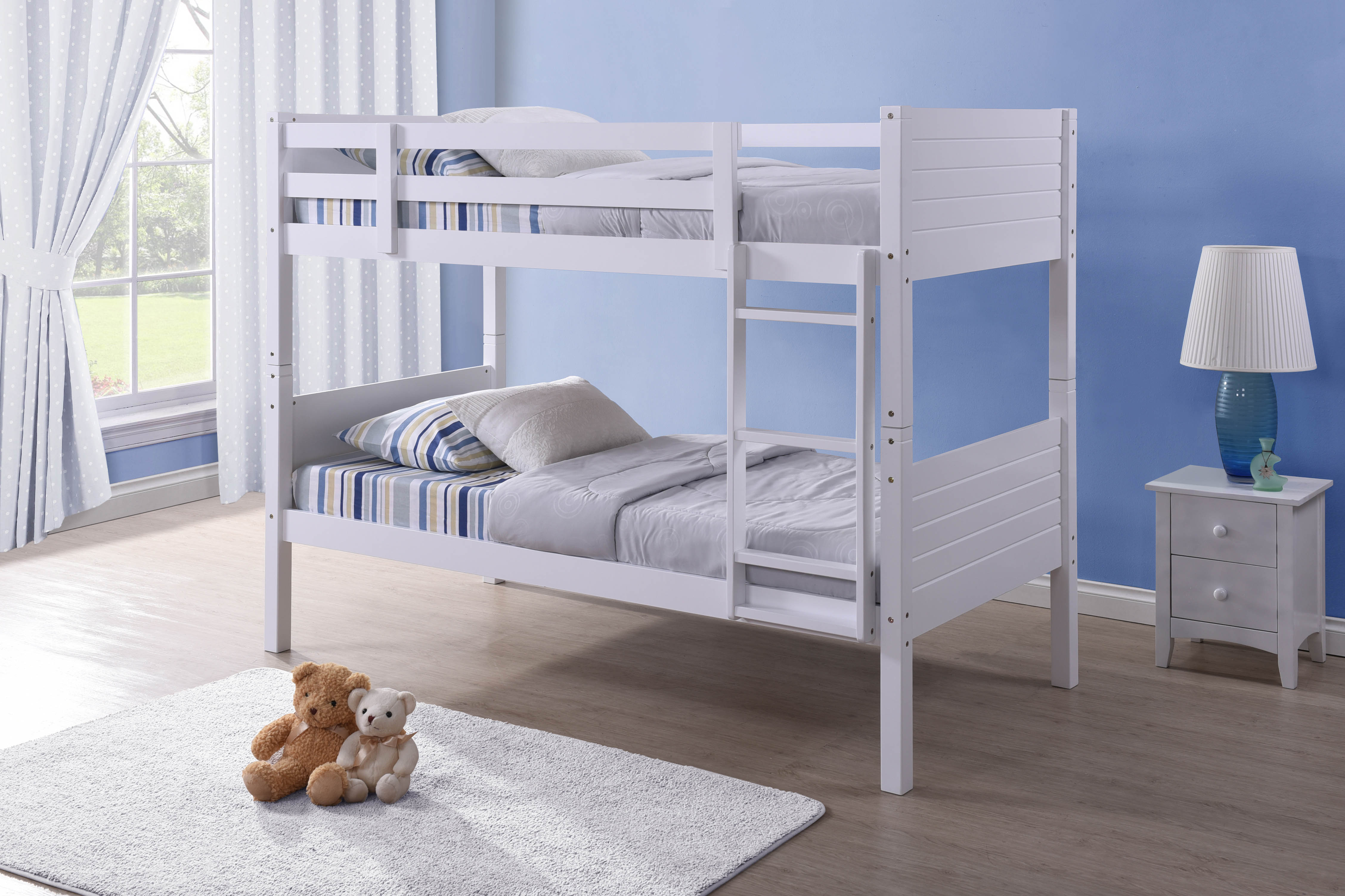 3FT BEDFORD BUNK BED IN WHITE