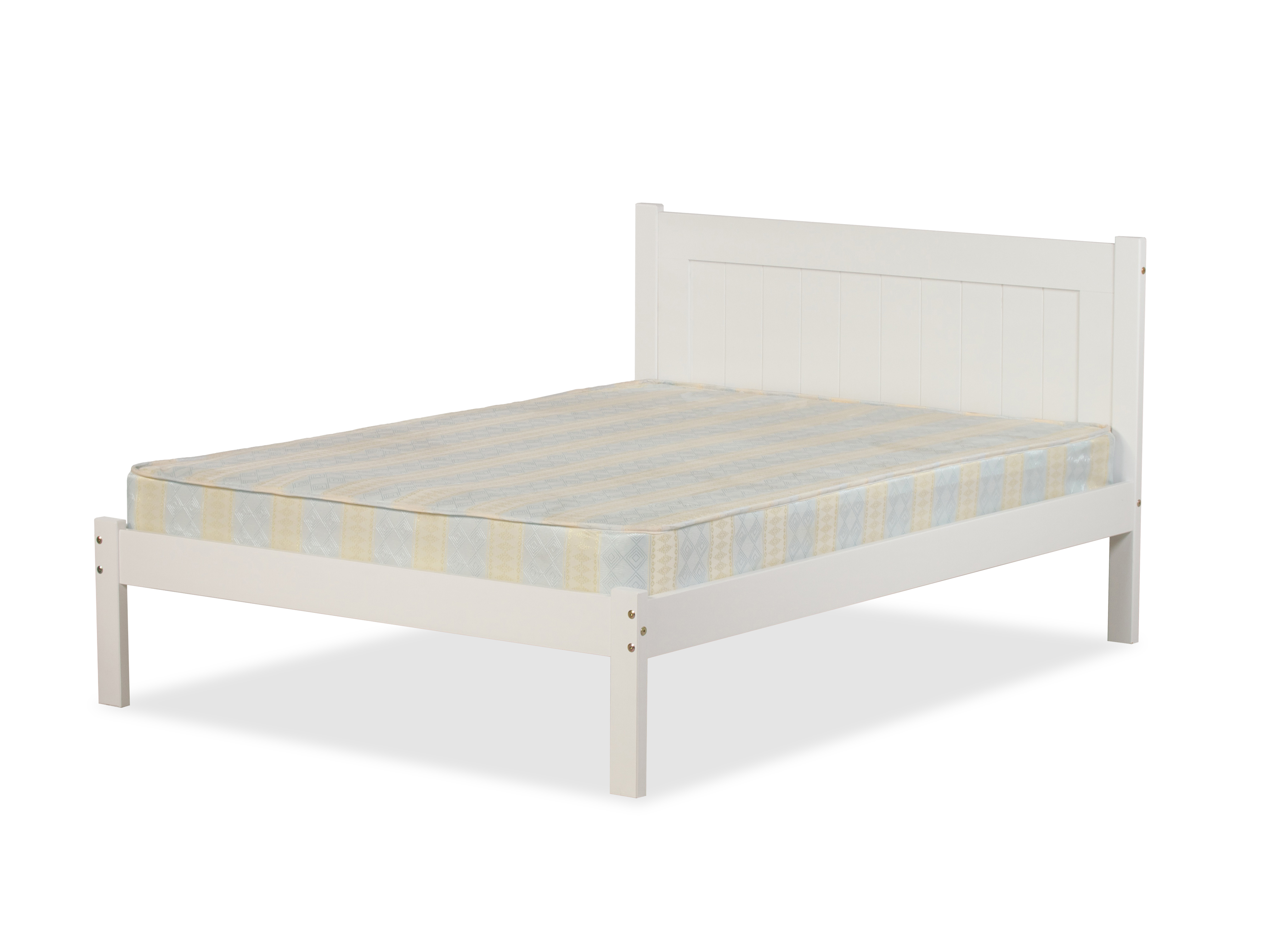 CLIFTON BED IN WHITE PINE