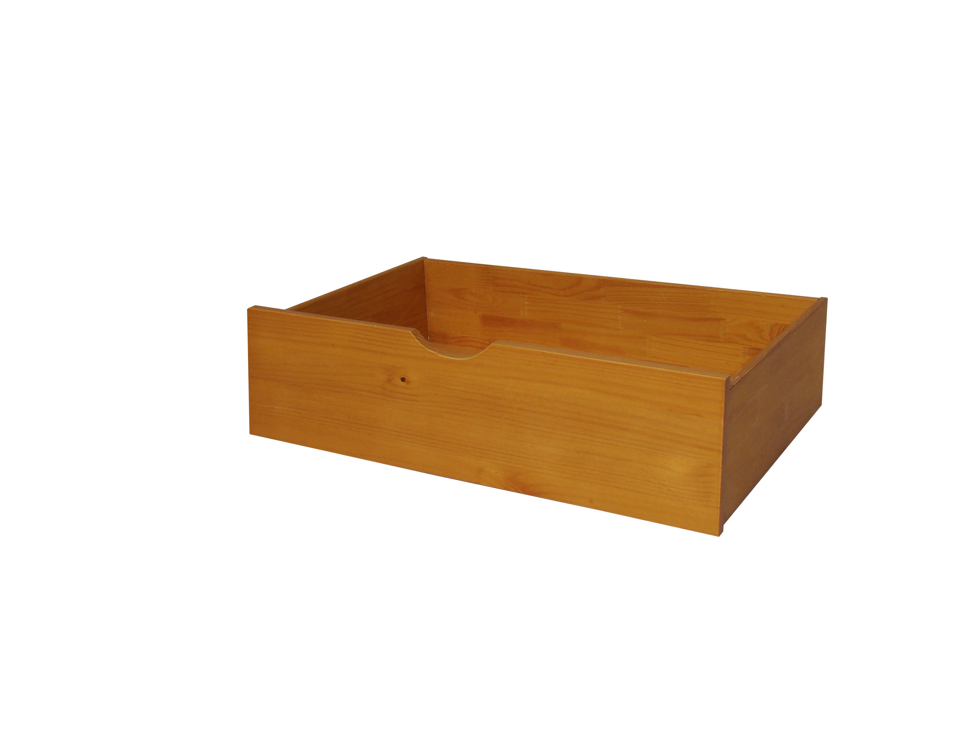UNDER-BED DRAWERS IN HONEY PINE