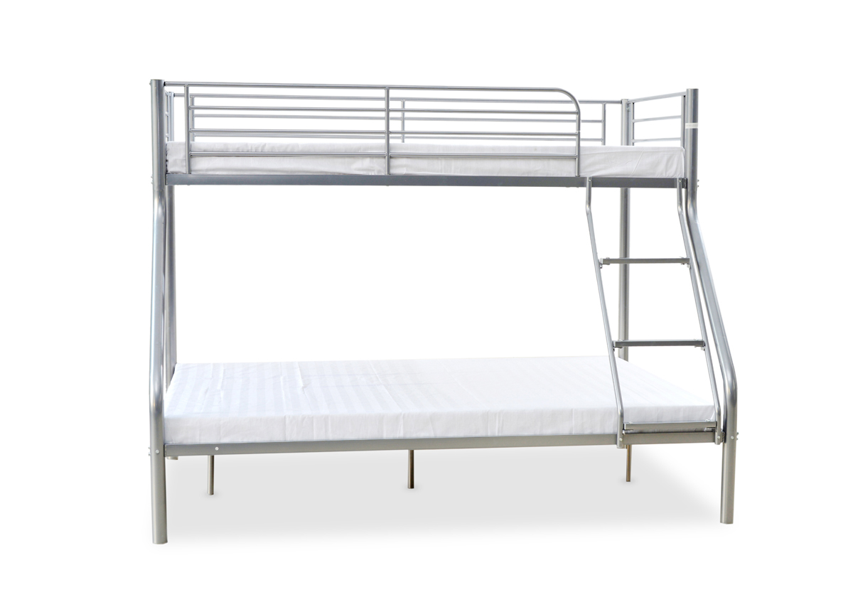 3FT OVER 4FT6 TWIN SLEEPER WITH CHOICE OF MATTRESSES