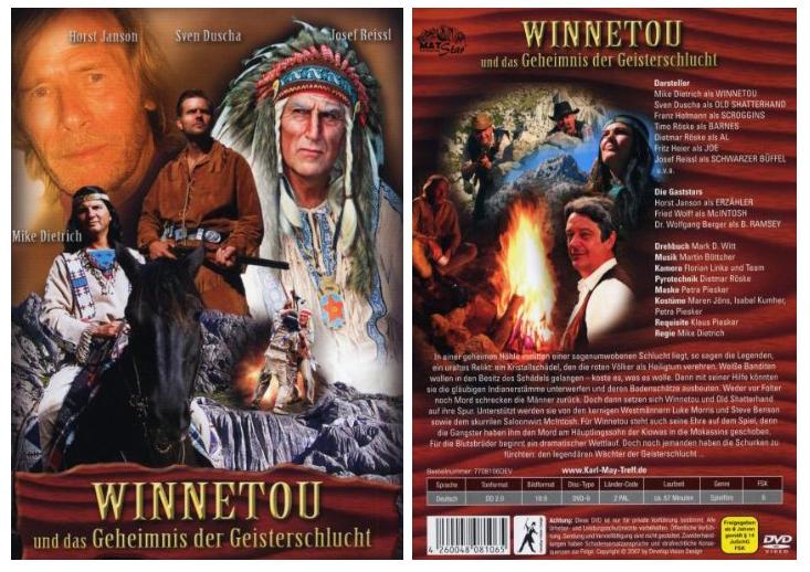 DVD Winnetou u.d. Geheimnis d. Geisterschlucht