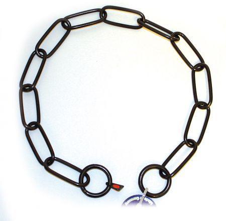 Halskette Edelstahl Medium, brüniert von HS-Sprenger