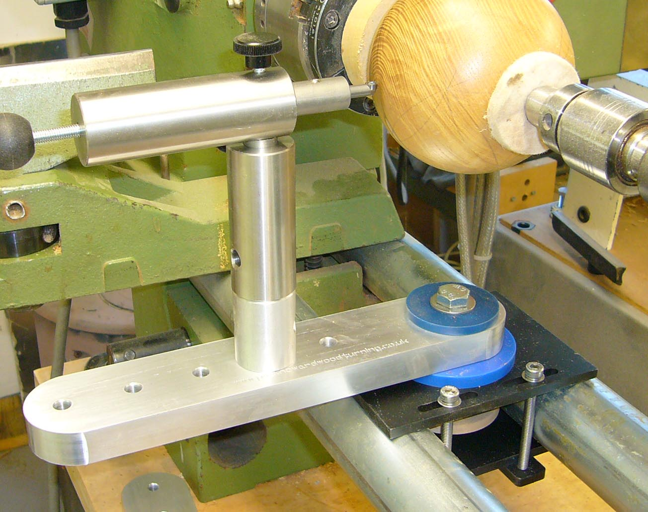 Sphere Jig Round Bed Bar Lathe