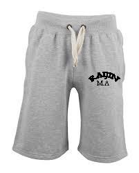 Grey Jog Shorts