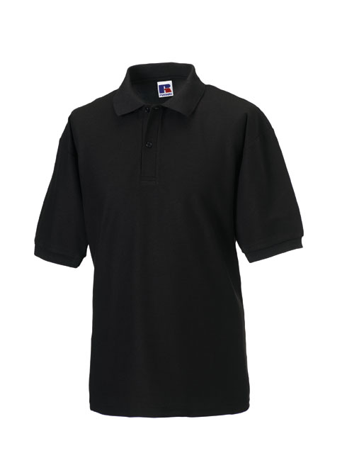 BLACK CLASSIC FIT POLO