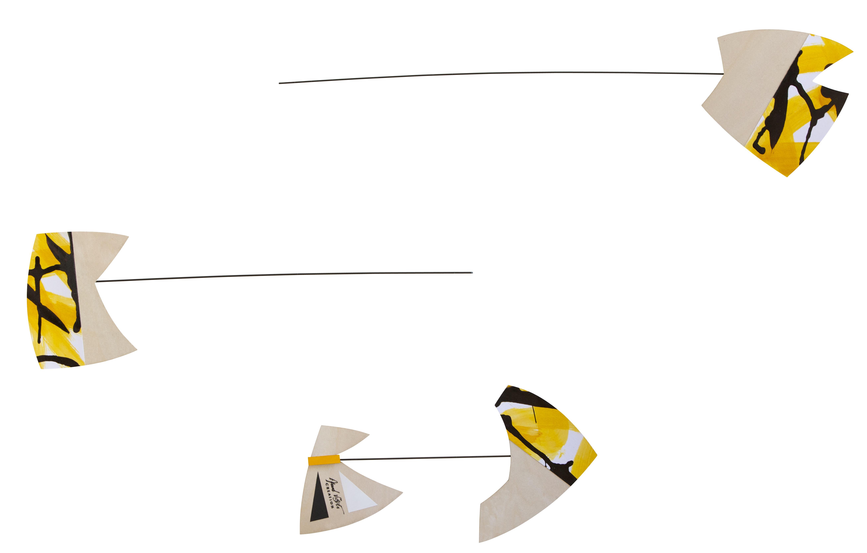 """COMMANDER votre mobile décoratif à suspendre  """"Natura Printemps Jaune"""""""