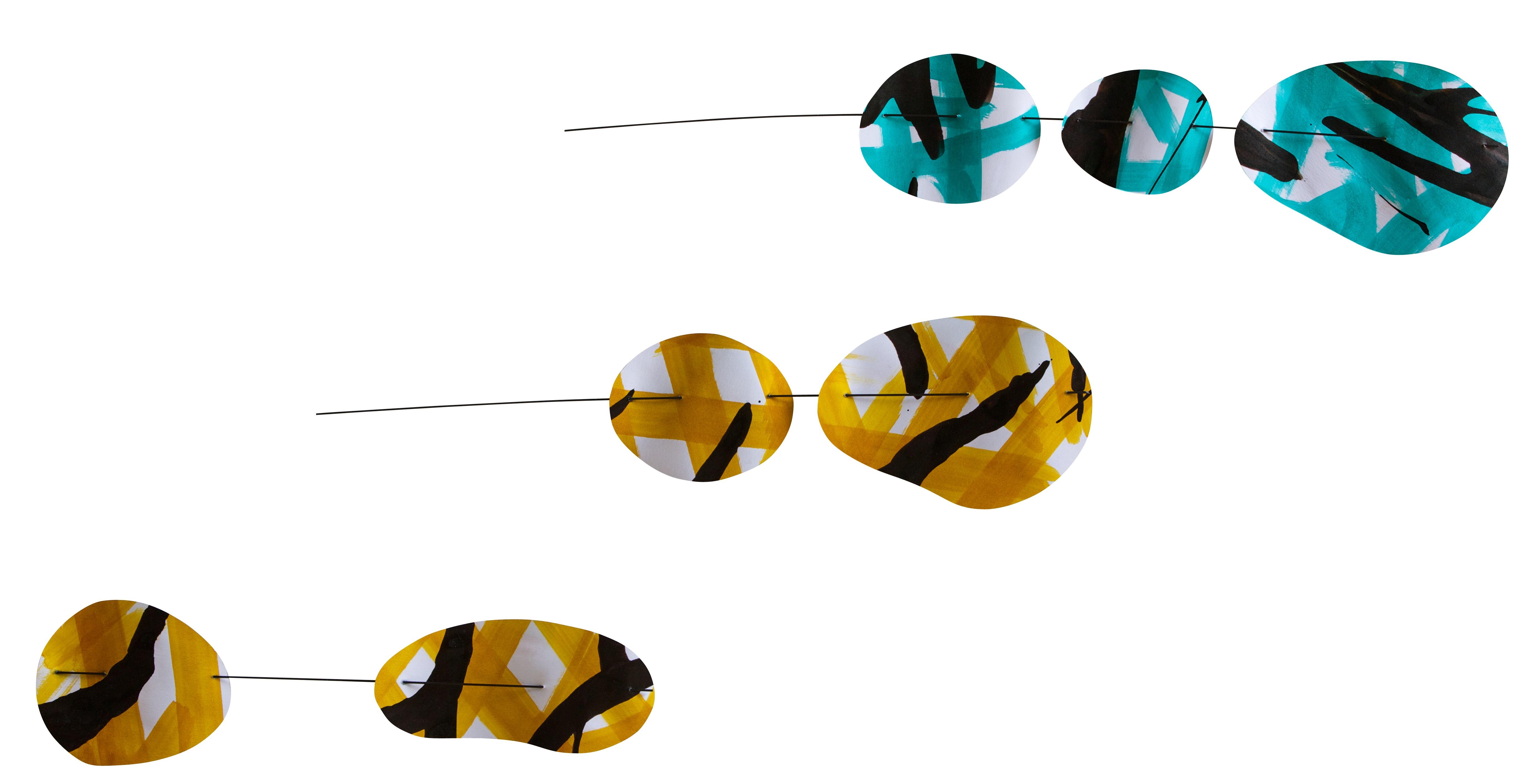 """COMMANDER votre mobile suspension décorative """"Ondulation"""""""