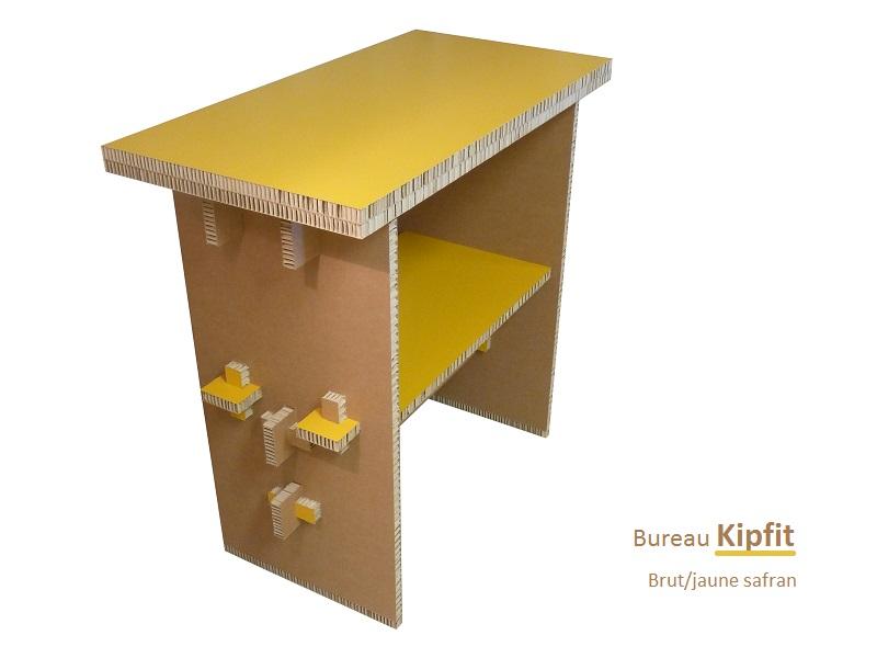Kipfit brut/jaune safran