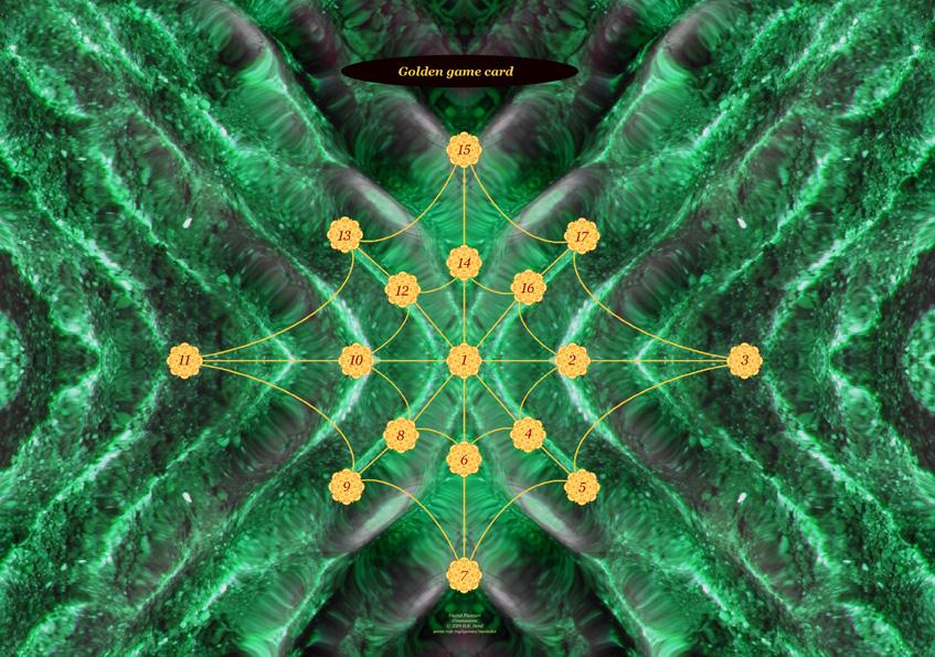 Golden game card Greenwaves