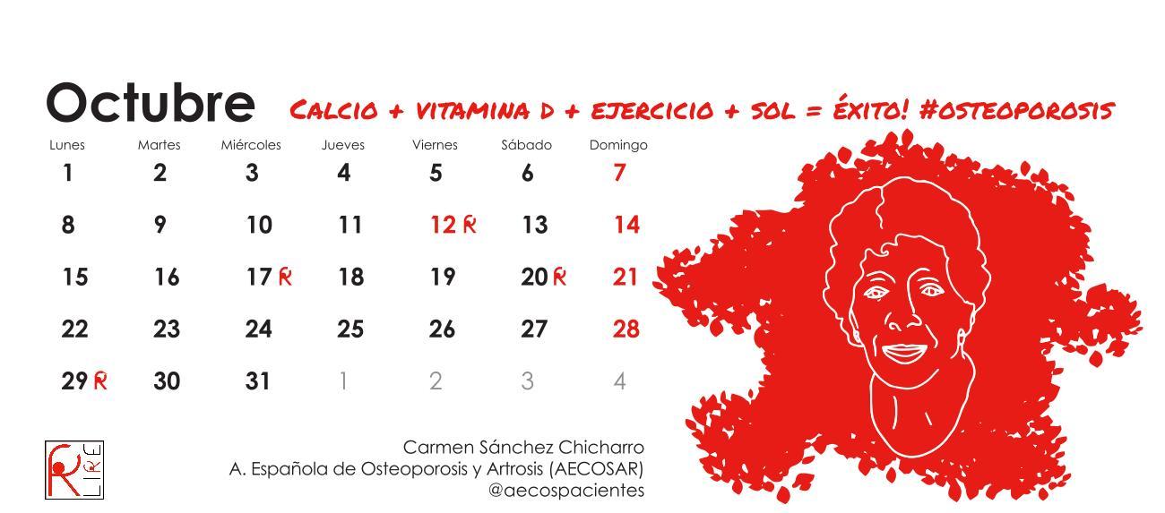 Octubre #osteoporosis