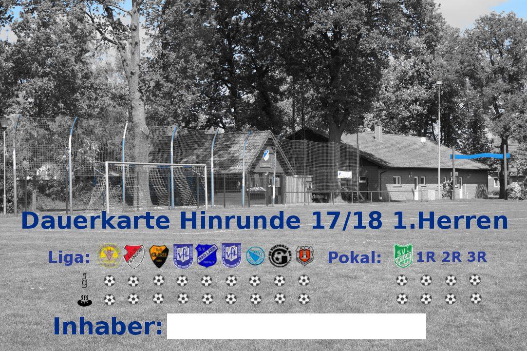 Dauerkarte 17/18 BW Schwege