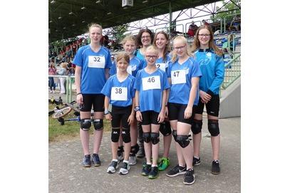Schweger_Einrad_Mädels_Team_Deutsche_Meisterschaft