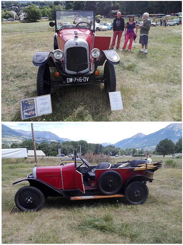 1ere voiture européenne livrée prete à rouler