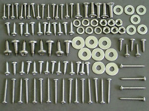 defender stainless steel screws