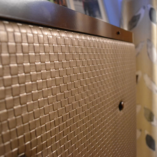 Textured Vinyl Radiator Covers