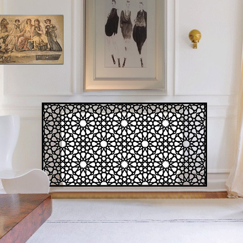 Persian and arabic style radiator covers