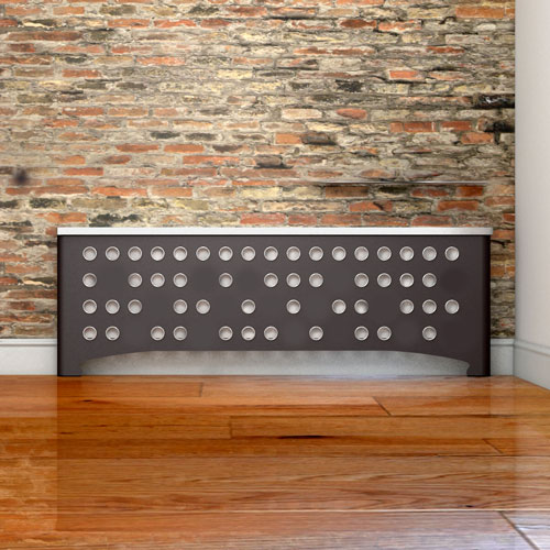CASA Radiator covers in Braille Abstract pattern