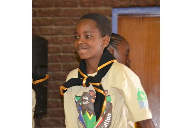 Scouts, boy, scarf, award, Bush Babies, SA